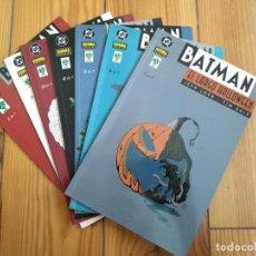Cómics: BATMAN EL LARGO HALLOWEEN - SERIE COMPLETA DE 7 NÚMEROS - 1 2 3 4 5 6 7. Lote 171427662