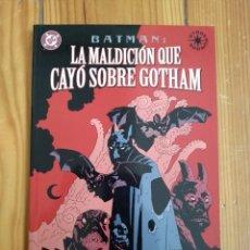 Cómics: BATMAN LA MALDICIÓN QUE CAYÓ SOBRE GOTHAM - OTROS MUNDOS - MIKE MIGNOLA & RICHARD PACE. Lote 171430723