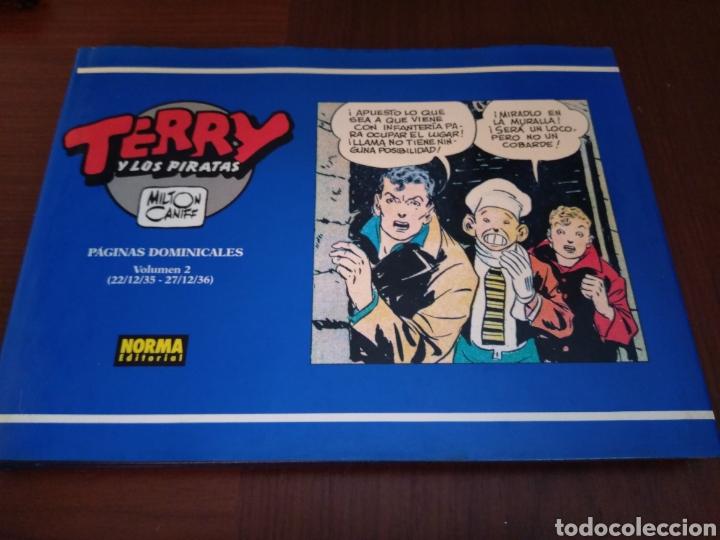 TERRY Y LOS PIRATAS. MILTON CANIFF. PÁGINAS DOMINICALES VOLUMEN 2 (22/12/35-27/12/36) (Tebeos y Comics - Norma - Otros)