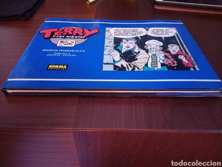 Cómics: Terry y los piratas. Milton Caniff. Páginas dominicales Volumen 2 (22/12/35-27/12/36) - Foto 2 - 171475680