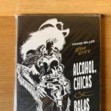 Cómics: SIN CITY DE FRANK MILLER - ALCOHOL, CHICAS & BALAS. Lote 171503153