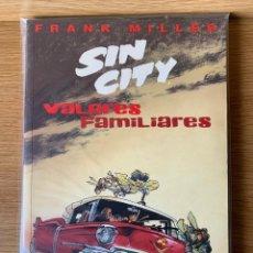 Cómics: SIN CITY DE FRANK MILLER - VALORES FAMILIARES. Lote 171503269