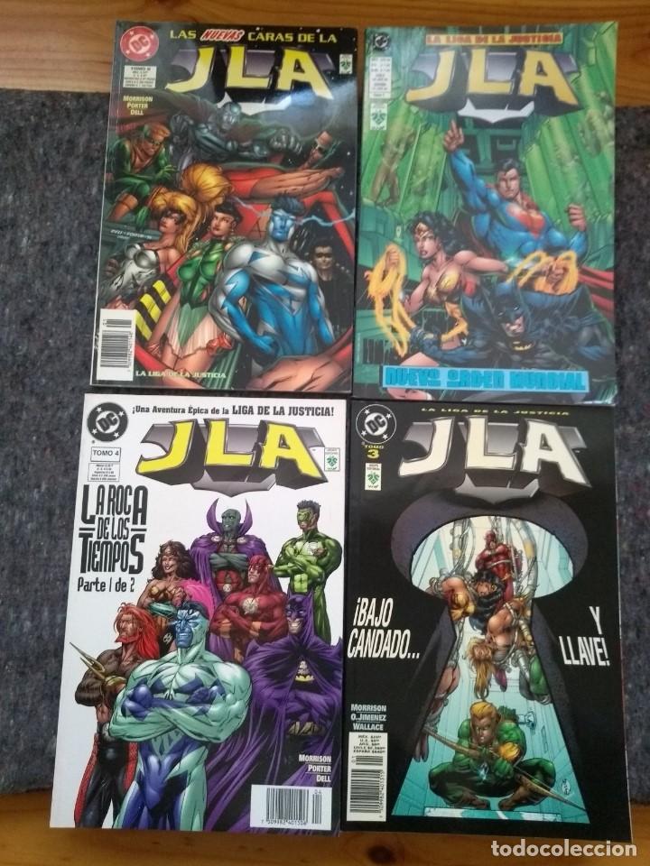 JLA DE MORRISON - TOMOS 1 2 3 4 5 Y 6 DE ED. VID (Tebeos y Comics - Norma - Comic USA)