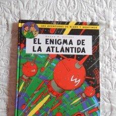 Fumetti: LAS AVENTURAS DE BLAKE Y MORTIMER - EL ENIGMA DE LA ATLANTIDA - N. -4. Lote 171748754