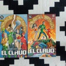 Cómics: LIGA DE LA JUSTICIA. JLA. EL CLAVO 1 Y 2. ALAN DAVIS.. Lote 171755834