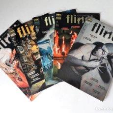 Cómics: FLINCH Nº 1 AL 5 ¡¡COMPLETA!! - EL TERROR SEGÚN VÉRTIGO. Lote 171759390
