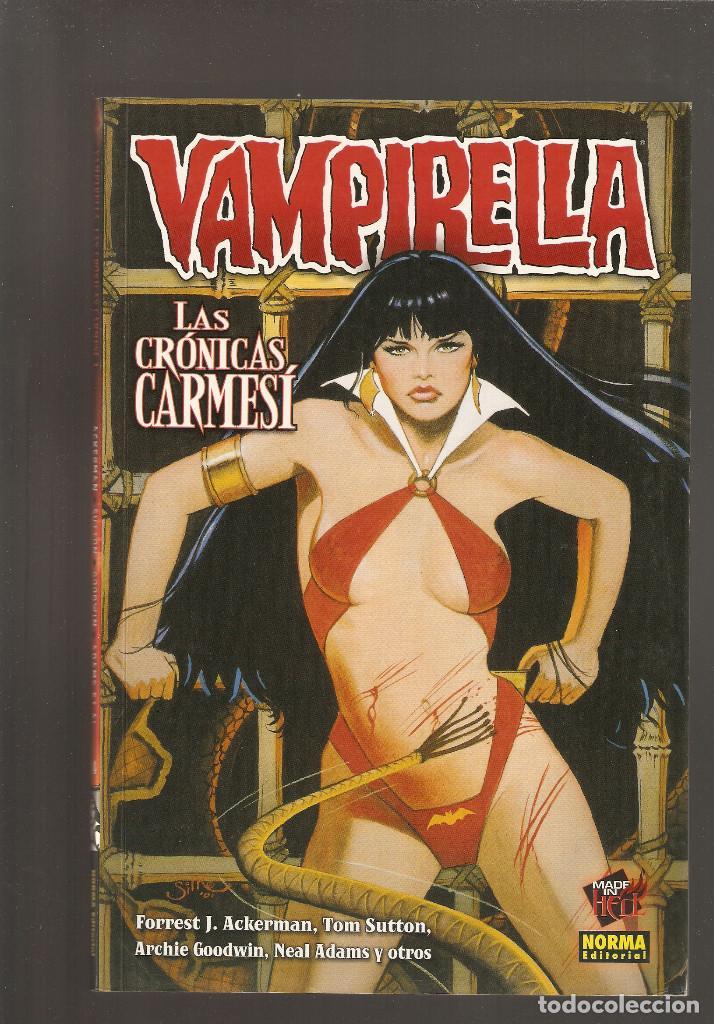 Cómics: VAMPIRELLA - LAS CRONICAS CARMESI - COLECCION COMPLETA 3 TOMOS - Foto 2 - 171765854