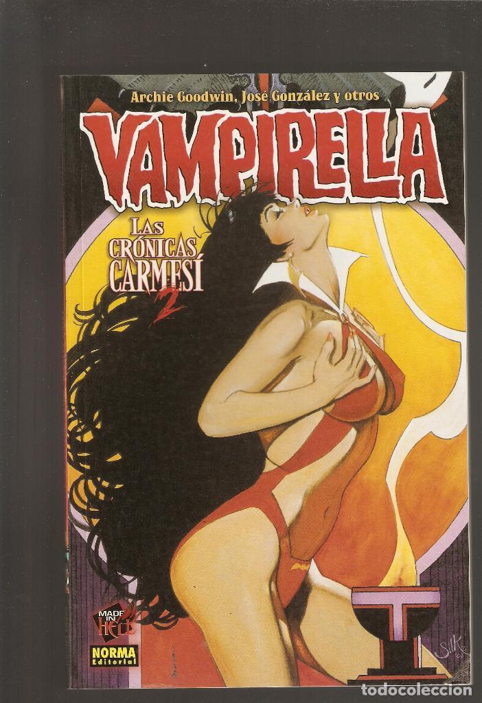 Cómics: VAMPIRELLA - LAS CRONICAS CARMESI - COLECCION COMPLETA 3 TOMOS - Foto 5 - 171765854