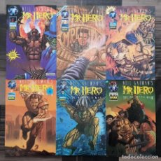 Fumetti: NEIL GAIMAN`S MR. HERO. THE NEWMATIC MAN. LOTE DE 6 COMICS. NORMA EDITORIAL 1996. Lote 171785990