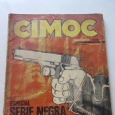 Cómics: CIMOC ESPECIAL SERIE NEGRA - NORMA 1981 SDX20. Lote 171804435