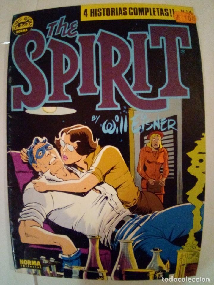 Cómics: LOTE DE 4 COMICS THE SPIRIT Nº 2-4-5-6 VER FOTOS - Foto 6 - 171837268