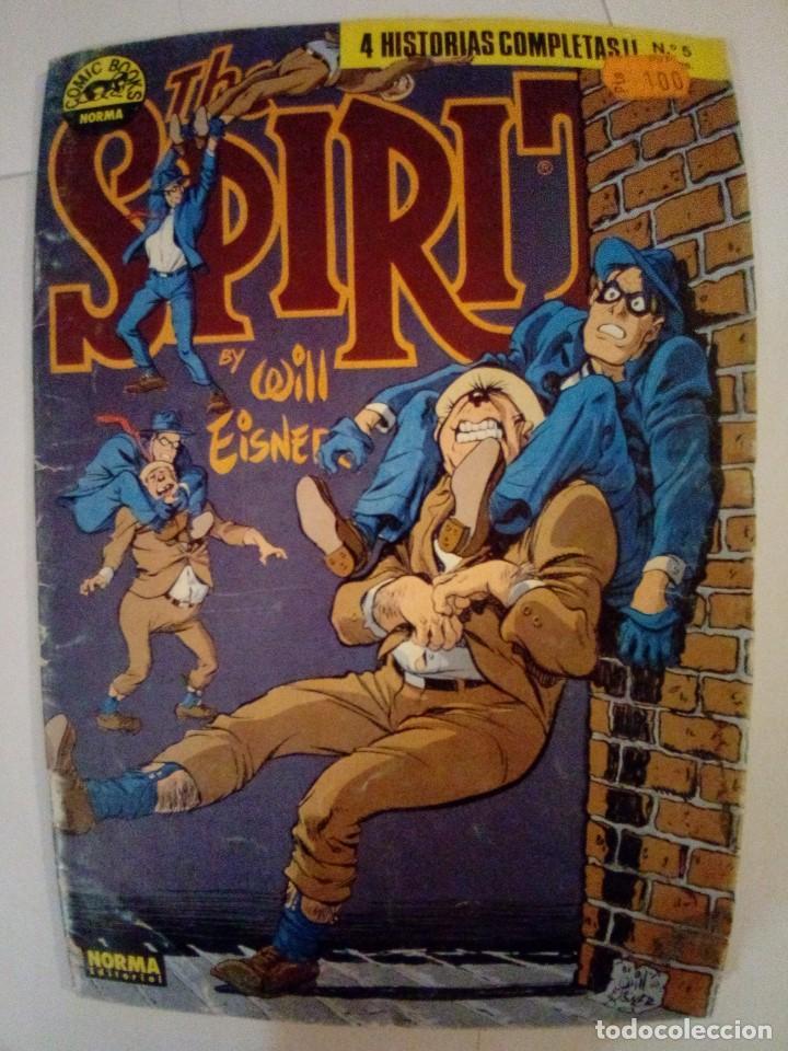 Cómics: LOTE DE 4 COMICS THE SPIRIT Nº 2-4-5-6 VER FOTOS - Foto 14 - 171837268
