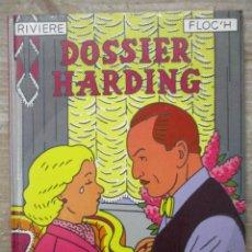 Cómics: DOSSIER HARDING - TAPA DURA - RIVIERE -FLOCH - NORMA. Lote 172089670