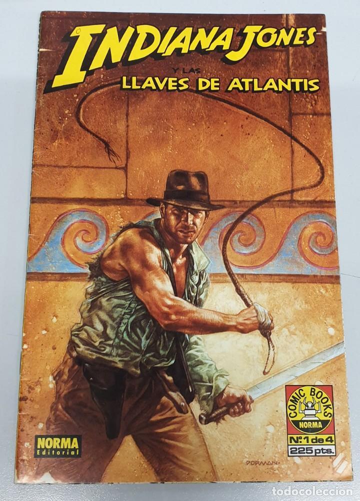 INDIANA JONES Y LAS LLAVES DE ATLANTIS Nº 1 / NORMA (Tebeos y Comics - Norma - Comic USA)