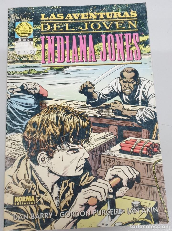LAS AVENTURAS DEL JOVEN INDIANA JONES Nº 8 / NORMA (Tebeos y Comics - Norma - Comic USA)