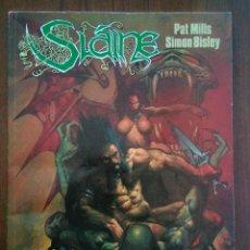 Cómics: SLAINE 1 EL DIOS CORNUDO - SIMON BISLEY - PAT MILLS. Lote 172111468