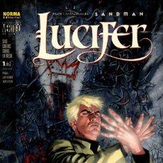 Cómics: LUCIFER-1: SEIS CARTAS SOBRE LA MESA (NORMA, 2001) DE MIKE CAREY Y CHRIS WESTON. COL. VERTIGO-175. Lote 172185889
