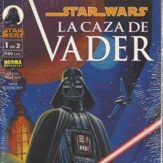 Fumetti: STAR WARS LA CAZA DE VADER 2 PRESTIGIOS SERIE COMPLETA PRECINTADOS A ESTRENAR. Lote 257770130