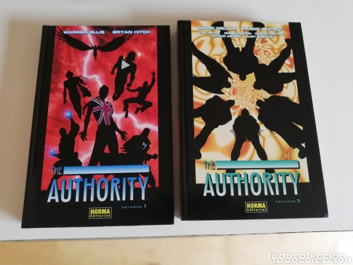 THE AUTHORITY COMPLETA (Tebeos y Comics - Norma - Comic USA)
