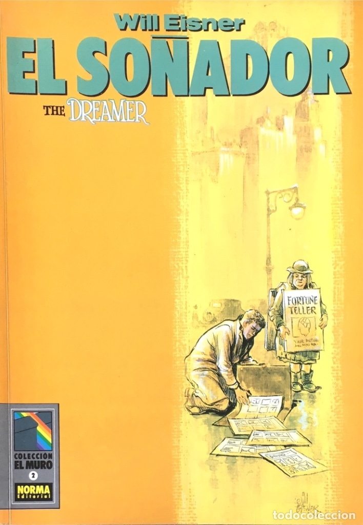 EL SOÑADOR. THE DREAMER. WILL EISNER. (Tebeos y Comics - Norma - Comic USA)