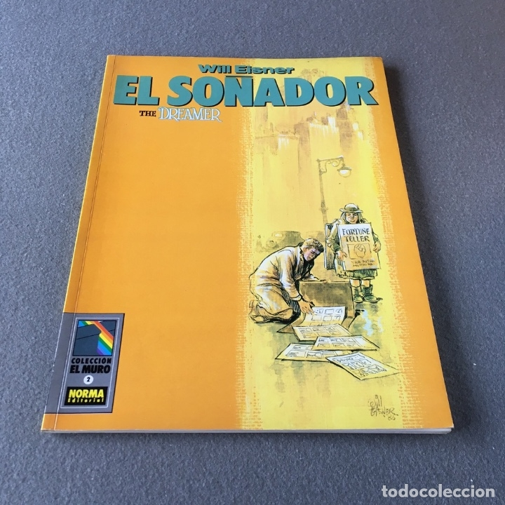 Cómics: El soñador. The dreamer. Will Eisner. - Foto 3 - 172319085