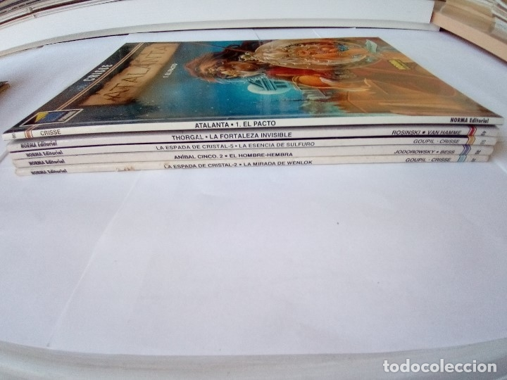Cómics: LOTE DE 5 COMICS COLECION PANDORA NORMA EDITORIAL VER FOTOS - Foto 2 - 172339835
