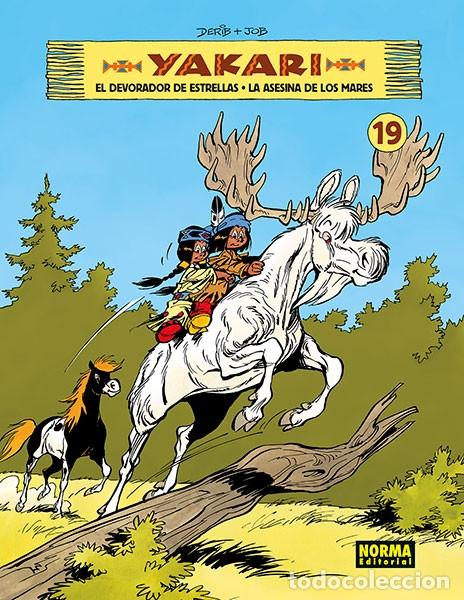 CÓMICS. YAKARI 19. EL DEVORADOR DE ESTRELLAS. LA ASESINA DE LOS MARES - DERIB/JOB (CARTONÉ) (Tebeos y Comics - Norma - Comic Europeo)