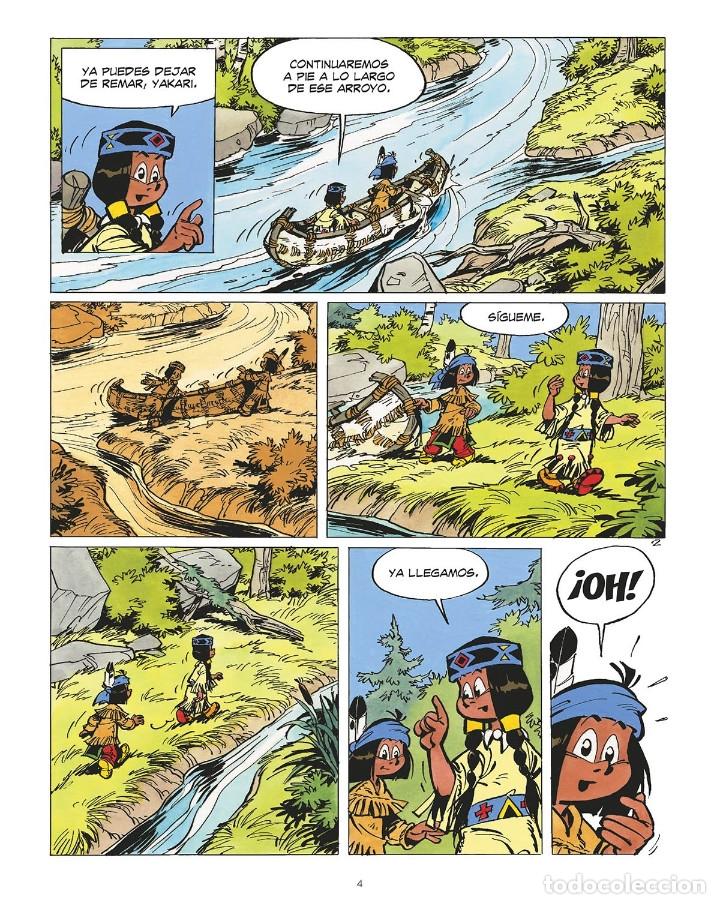 Cómics: Cómics. YAKARI 19. EL DEVORADOR DE ESTRELLAS. LA ASESINA DE LOS MARES - Derib/Job (Cartoné) - Foto 2 - 265894298