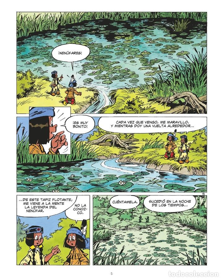 Cómics: Cómics. YAKARI 19. EL DEVORADOR DE ESTRELLAS. LA ASESINA DE LOS MARES - Derib/Job (Cartoné) - Foto 3 - 265894298