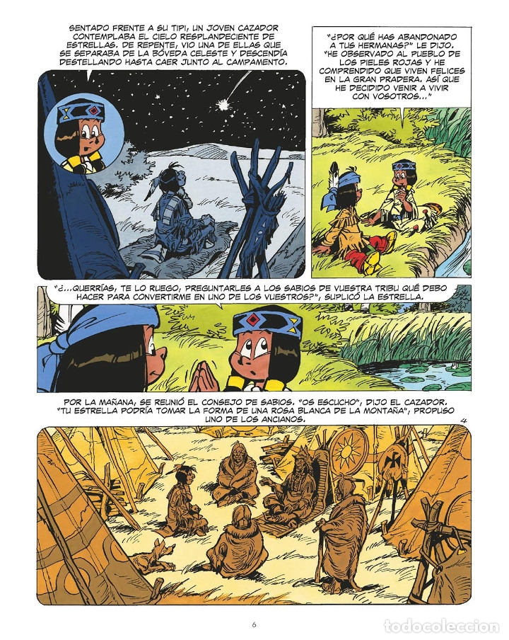 Cómics: Cómics. YAKARI 19. EL DEVORADOR DE ESTRELLAS. LA ASESINA DE LOS MARES - Derib/Job (Cartoné) - Foto 4 - 265894298