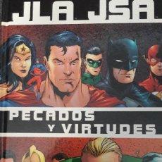 Cómics: JLA JSA LIGA DE LA JUSTICIA PECADOS Y VIRTUDES GEOFF JOHNS CARLOS PACHECO NORMA EDITORIAL. Lote 172410930