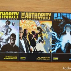 Cómics: THE AUTHORITY REVOLUTION 1 AL 3. Lote 172435783