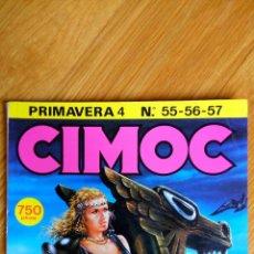 Cómics: CIMOC 55-57 (RETAPADO). Lote 172437237