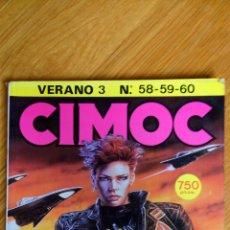Cómics: CIMOC 58-60 (RETAPADO). Lote 172437242