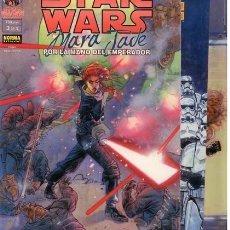 Cómics: STAR WARS. MARA JADE. SERIE COMPLETA: 3 TOMOS. NORMA. Lote 251787445