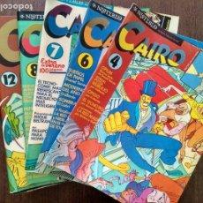 Comics : LOTE 16 EJEMPLARES REVISTA CAIRO. Lote 172653952