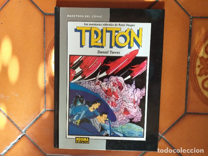 TRITON. LAS AVENTURAS SIDERALES DE ROCO VARGAS. DANIEL TORRES. (Tebeos y Comics - Norma - Cairo)