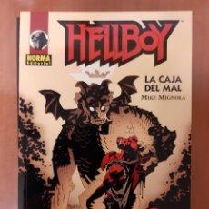 Cómics: HELLBOY LA CAJA DEL MAL MIKE MIGNOLA ¡IMPECABLE!. Lote 172872228