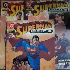 Cómics: SUPERMAN LEGADO COMPLETA 3 TOMOS NORMA ESTADO MUY BUENO MIRE MAS ARTICULOS NEGOCIABLE . Lote 172895067