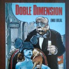 Cómics: DOBLE DIMENSIÓN - ENKI BILAL - COMIC EUROPEO - NOVELA GRÁFICA - 1A EDICIÓN. Lote 172928883