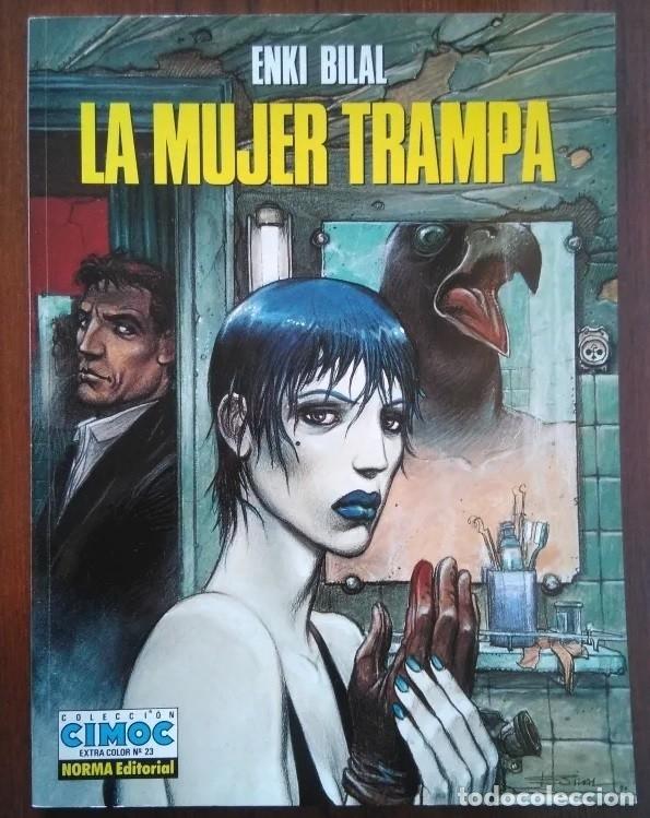 PACK COMICS ENKI BILAL COLECCION CIMOC MUJER TRAMPA, FRÍO ECUADOR, FERIA INMORTALES, DOBLE DIMENSION (Tebeos y Comics - Norma - Cimoc)