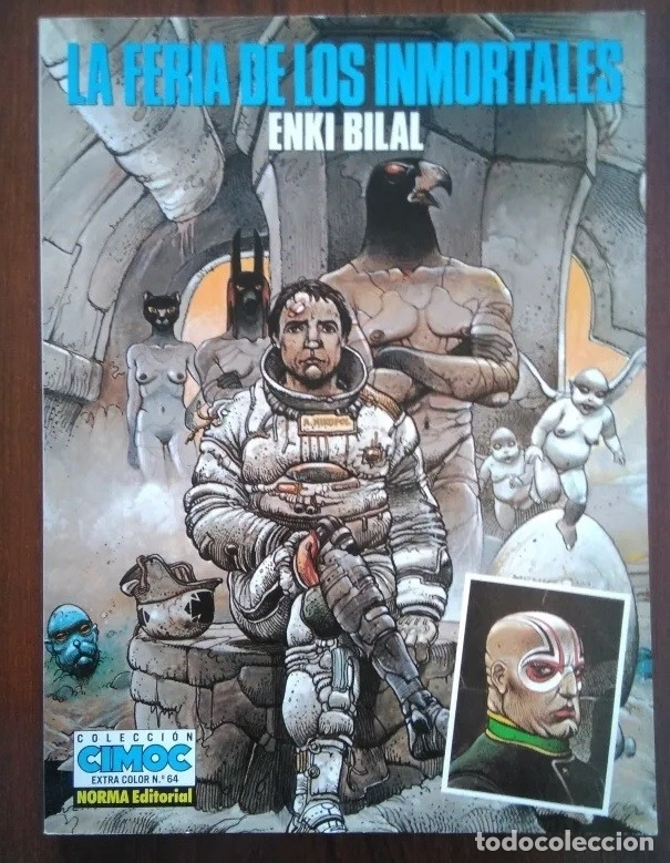 Cómics: Pack comics Enki Bilal Coleccion cimoc mujer trampa, frío ecuador, feria inmortales, doble dimension - Foto 3 - 172950248