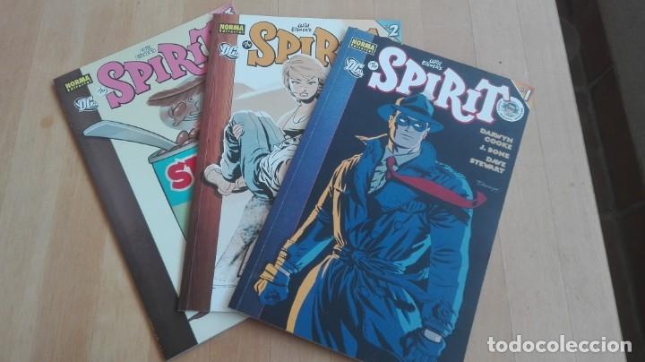 SPIRIT NUMEROS 1-2 Y 3. NORMA EDITORIAL (Tebeos y Comics - Norma - Comic USA)