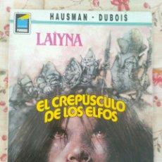 Cómics: LAYNA EL CREPUSCULO DE LOS ELFOS HAUSMAN - DUBOIS / COL. PANDORA Nº31 NORMA. Lote 172995548