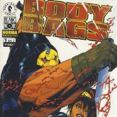 Cómics: BODY BAGS - 2 NºS - COMPLETA - A ESTRENAR. Lote 288001678