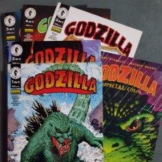 Cómics: GODZILLA COMPLETA 5 TOMOS + ESPECIAL ESTADO IMPECABLE EDICIONES NORMA MAS ARTICULOS NEGOCIABLE. Lote 173403258