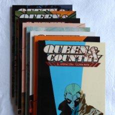 Cómics: QUEEN & COUNTRY + QUEEN & COUNTRY CONFIDENCIAL (11 TOMOS TAPA BLANDA) (2 COLECCIONES COMPLETAS). Lote 173413247