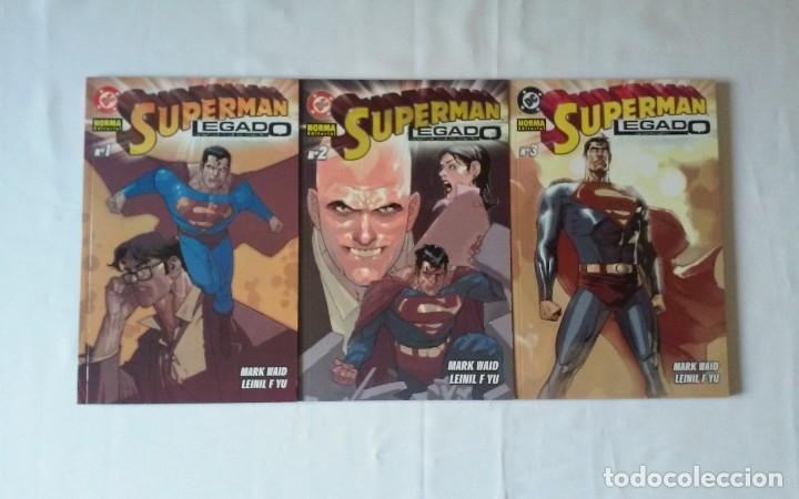 SUPERMAN LEGADO. 3 TOMOS. 1, 2 Y 3. NORMA EDITORIAL. DC. NUEVOS. (Tebeos y Comics - Norma - Comic Europeo)