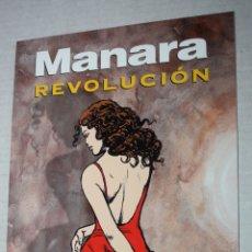 Cómics: MILO MANARA.:REVOLUCION , COL. MANARA COLOR Nº 17 (TOTALMENTE NUEVO). Lote 173667905