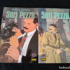 Cómics: SAM PEZZO. 2 TOMOS NORMA. COMPLETA. Lote 173714863